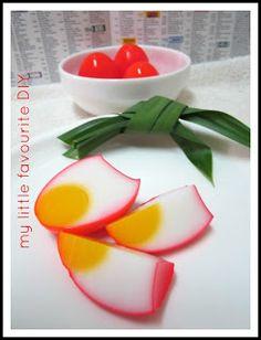 Agar agar jelly Chinese eggs