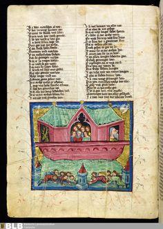 18 [8v] - Rudolf von Ems: Weltchronik - Seite - Handschriften - BLB Karlsruhe