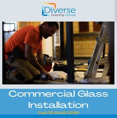 Did you know that we also service commercial buildings?   Here we are ensuring that the glass window is installed perfectly.✅   Call 08 6149 1299  #commercialspace #commercialglassservices #commercialglassdoor #commercialglasswindow #mandurahglass #perthglazier #windowsperth #glazingaustralia #remodeling Commercial Glass Doors, Commercial Windows, Window Replacement, Glass Repair, Remodeling, Buildings