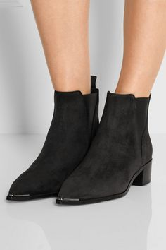 Acne Studios|Jensen suede ankle boots|NET-A-PORTER.COM