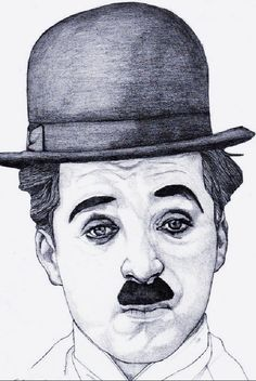 Pencil Art, Pencil Drawings, Wood Burn Designs, Drawing Sketches, Sketch Art, Hulk Art, Charlie Chaplin, Image Types, Easy Drawings
