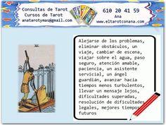 Los Menores del Tarot: SEIS DE ESPADAS Tarot Significado, Tarot Reading, Tarot Cards, Tips, Books, Drawings, Spirituality, Study, Tarot Decks