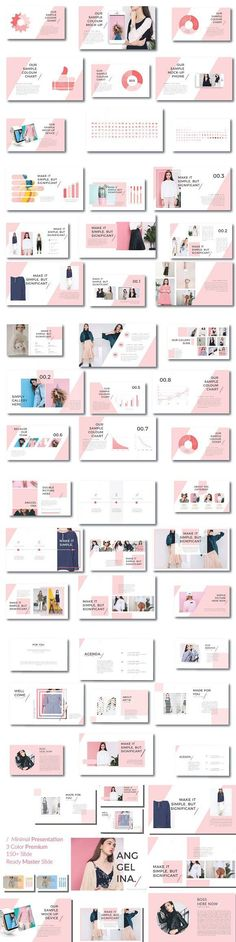 PowerPoint Templates - Keynote - Ideas of Keynote - Anggelina Keynote Template. Design Slide, Web Design, Media Design, Layout Design, Graphic Design, Presentation Layout, Presentation Slides, Presentation Templates, Marketing Presentation