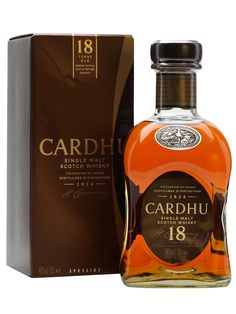A longer aged whisky from Cardhu, staying in the cask for 18 years for a richer and more complex flavour. The 18 Year Old retains Cardhu's soft, approachable style, but adds notes of rich fruit, le...