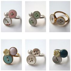 I'm in love with these button rings from mhl studio:  www.studio-mhl.com   www.studiomhl.blogspot.com