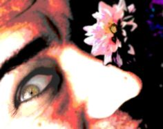 Flower and the sweet Eyed Beast by Danny Hennesy by MushroomBrain.deviantart.com on @deviantART  Photographer: Danny Hennesy Model: distorted Mirror image Hennesy computer remixing: Danny Hennesy  this is at the toilet at Smipan or Simrishamsgatans cafe witch I often frequent and drink coffee...  Websites rellating to the ART of Danny Hennesy and TRANSVESTITEstallion  http://mushroombrain.deviantart.com/ http://www.youtube.com/user/MrMushroomBrain