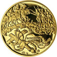 BITVA U BORODINA - 200. VÝROČÍ AU Marsala, Coins, Personalized Items, Coining, Marsala Wine, Rooms