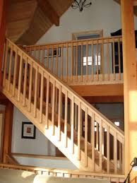 wooden stair railings - Google Search