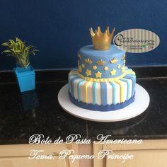 Birthday Cake For Him, Baby Birthday Cakes, Birthday Parties, Bolo Fake Princesa, Bolo Fack, Cake For Husband, First Birthdays, Fondant, Pasta