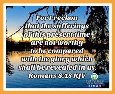 Wow! The sufferings of this present time, are not worthy to be compared with the glory, which shall be revealed in us! Remember, whatever we go through, however good or bad it gets, trust God! It's not even worthy to be compared with the glory that shall be revealed in us! Amen! Praise God! #Wednesdaymotivation #trustGod #Hisgloryshallberevealed #amen Daily Bible Inspiration, Romans 8 18, Wednesday Motivation, World Need, What The World, Praise God, Trust God, Amen, Presents