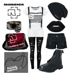 """""""Rammstein"""" by weird-kitten on Polyvore featuring Lime Crime"""