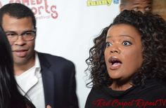 Jordan Peele & Yvette Nicole Brown at the LA Comedy Shorts Festival - 19 interviews with today's hot comedians here: http://www.redcarpetreporttv.com/2013/04/10/the-funniest-people-on-one-red-carpet-ever-l-a-comedy-short-film-festival-breaks-record-for-entries-and-laughs/