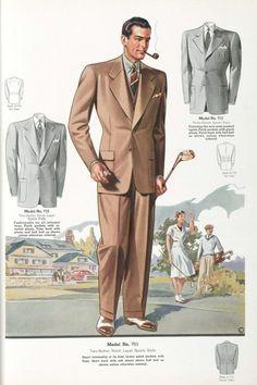 Мужская мода 1930-40 годов. Обсуждение на LiveInternet - Российский Сервис Онлайн-Дневников