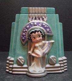 cookie jars from the 1930 | Vintage Betty Boop cookie jar, 1930. | COOKIE JARS | Pinterest