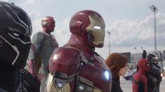 ヒーローたちの戦いをカプコンの格闘ゲームっぽくしたアイアンマン VS. キャプテンアメリカ