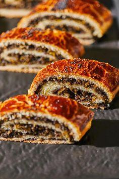 Tökös-mákos bejgli recept | Street Kitchen Ravioli, Sandwiches, Food, Essen, Meals, Paninis, Yemek, Eten