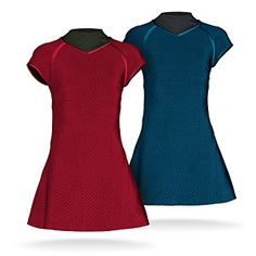 Star Trek Into Darkness Tunic Dress Replicas | ThinkGeek. Science blue, obvi. Command gold is too fugly to exist...
