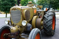The #plowing festival 2013: history of #farm machines. #Orsi #tractor