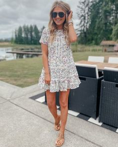 Cute Everyday Outfits, Trendy Outfits, Cute Outfits, Spring Summer Fashion, Summer Wear, The Bikini, Casual Dresses, Casual Clothes, Mom Style