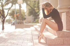 point ballet...beautiful