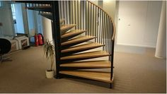 Ornate wooden stairs for Homes and Offices Modern Interior, Interior Design, Wooden Stairs, House Stairs, Woodworking Magazine, Staircase Design, Offices, Homes, Beautiful