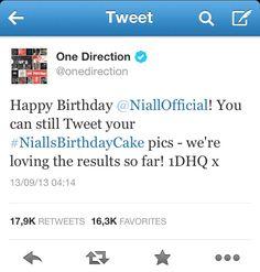 happy birthday @Niall Dunican Horan  :) :) :)