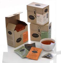 Lovely tea packaging