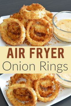 out this delicious Air Fryer Onion Rings Recipe! - Check out this delicious Air Fryer Onion Rings Recipe! -Check out this delicious Air Fryer Onion Rings Recipe! - Check out this delicious Air Fryer Onion Rings Recipe! Air Fryer Oven Recipes, Air Frier Recipes, Air Fryer Dinner Recipes, Air Fryer Recipes Potatoes, Air Fryer Recipes Vegetables, Air Fryer Chicken Recipes, Air Fryer Potato Chips, Air Fryer Recipes Appetizers, Baked Potatoes