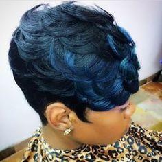 All Hair by Latise  @hairbylatise  #PeekABlue #F...Instagram photo | Websta (Webstagram)