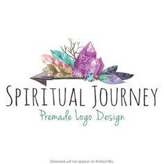 Premade Logo Design, Modern Logo, Watercolor Logo ...