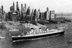 Queen Mary am 27. Mai 1936
