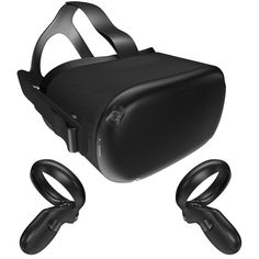 66de25019 Oculus Quest with Controllers 3D model  Oculus  Quest  VR  Headset  Connect