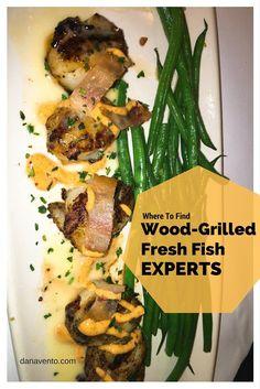 #woodgrilled #fresh #fish #diningout #restaurants #dinner #seasonalmenu #food #BFG #ad