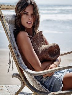 Alessandra Ambrosio for L'Officiel Turkey by Stewart Shining
