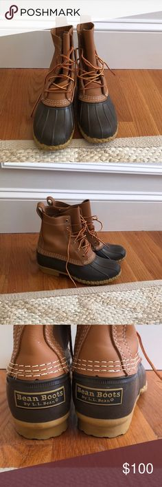 L.L. Bean duck boots L.L. Bean winter/rain duck boots. Worn only a handful of times, perfect condition. Women's size 8. Smoke free, pet free home. L.L. Bean Shoes Winter & Rain Boots