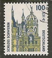 Germany Scott 1845 Castle Used  1.10