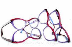 Caroline abram - monture de lunettes de marque - opticien Paris 9