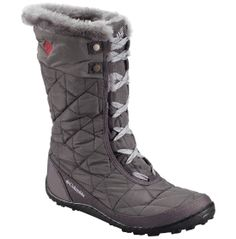 Columbia Sportswear Women's Minx Mid II Omni-Heat Boots (Shale/Bright Red, Size - Winter Boots at Academy Sports Lace Up Boots, Black Boots, Rain Boots, Shoe Boots, Columbia Shoes, Waterproof Winter Boots, Winter Gear, Winter Snow Boots, Winter Shoes