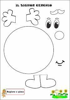 Top 40 Examples for Handmade Paper Events - Everything About Kindergarten Body Preschool, Preschool Learning, Kindergarten Classroom, Classroom Decor, Shapes Worksheet Kindergarten, Shapes Worksheets, School Worksheets, File Folder Activities, Preschool Activities