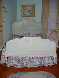 1930 S Twin Jenny Lind Wood Spindle Spool Bed 200 Ships