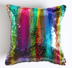 DIY Mermaid Sequin Cushion Cover Magical Pink Throw Pillowcase X Color Changing Reversible Pillow Case Pink Cushion Covers, Cushion Cover Pattern, Pink Cushions, Diy Cushion, Cushion Pillow, Sequin Cushion, Sequin Pillow, Mermaid Diy, Mermaid Sequin