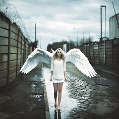 'She couldn't see her wings,  but I knew they were there.  So I built her a ladder,  that led up to the sky,  and when she reached the clouds  she remembered how to fly.' - A t t i cu s   @atticuspoetry #atticuspoetry
