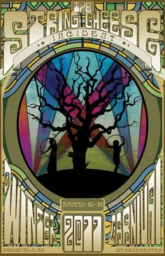 This design by Dstovall won the String Cheese Incident 2011 Winter Carnival Clan Poster Contest #music