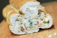 Stuffed French Bread Pizza