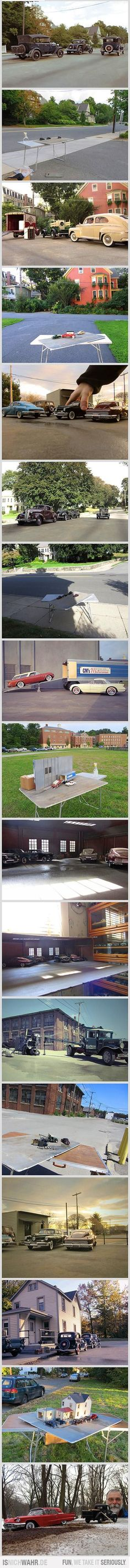 Model Cars in Reallife