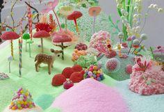 Mind-Bogglingly Detailed Candyland Art