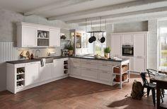 6035 | Ash taupe real wood lacquer - Häcker Küchen - Häcker Küchen