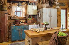 This looks just like my husband's grandmother's kitchen. Boy could she cook, too