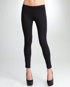 5. A top to wear for tea- The black Jersey Yoke Legging is a Bebe essential that will look great with that leatherette top.  Too much? Maybe but I AM on vacay #bebe #pinyourwaytotheuk