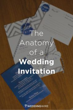 There are so many parts of a wedding #invitations - click here to learn all about them!